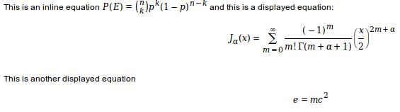 TiddlyWiki with the MathJaxPlugin